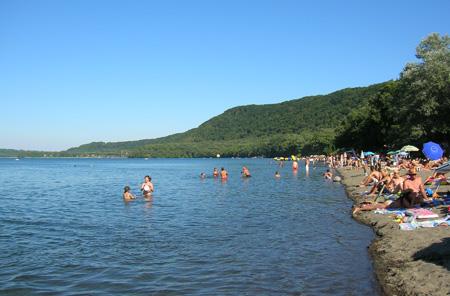 Spiagge del Lago di Vico