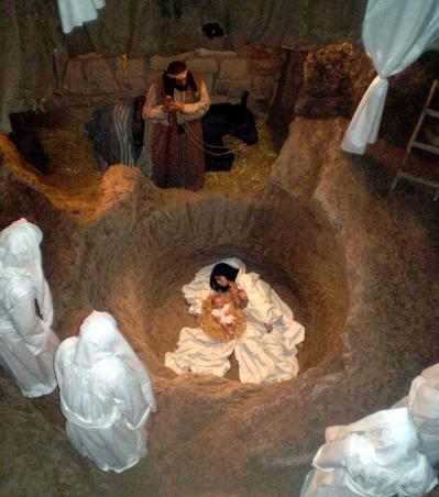 Presepe di Orvieto pozzo della Cava