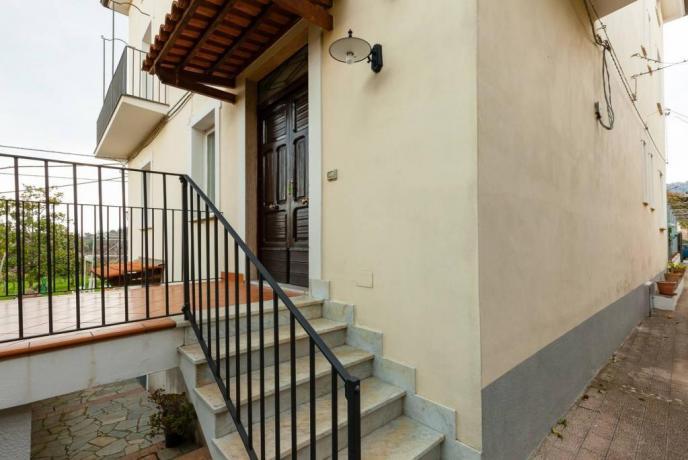 Casa Vacanza Famiglie Ceraso Scala ingresso