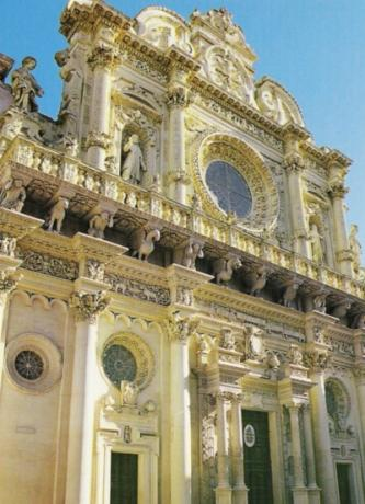 Baroque-style in Lecce