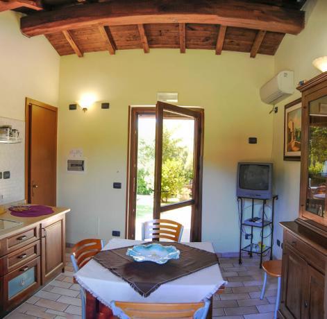 appartamenti vacanza vicino al Lago Piediluco, uso cucina