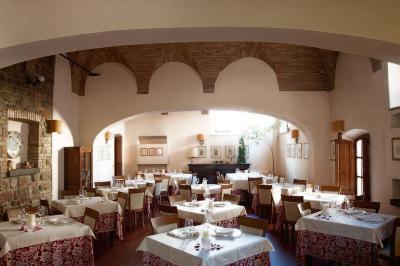 Ristorante dell'hotel vicino Assisi e Perugia