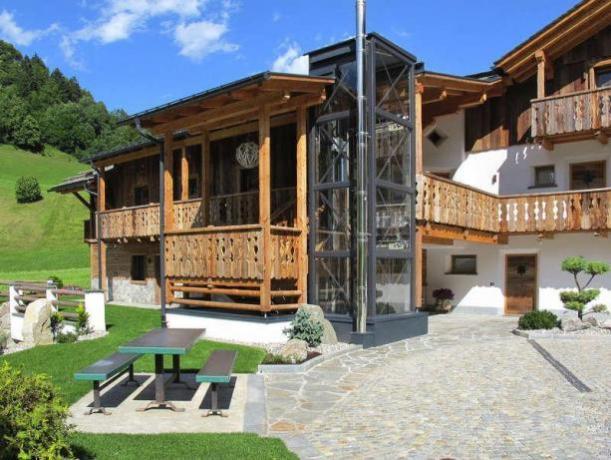 Chalet in provincia di Bolzano vicino impianti sciistici