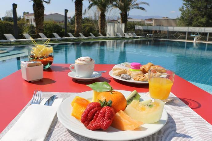 Colazione a Buffet in Hotel a Rende-4stelle-Calabria