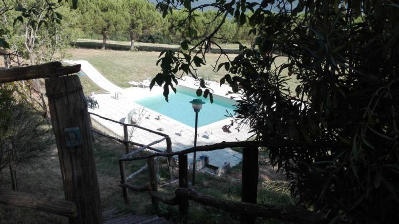 Piscina vicino Firenze: Azienda-Agrituristica Val di Sieve