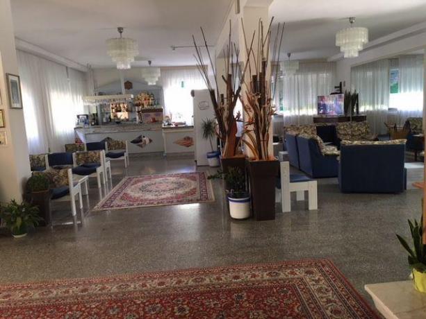 Sala Bar hotel a Milano Marittima