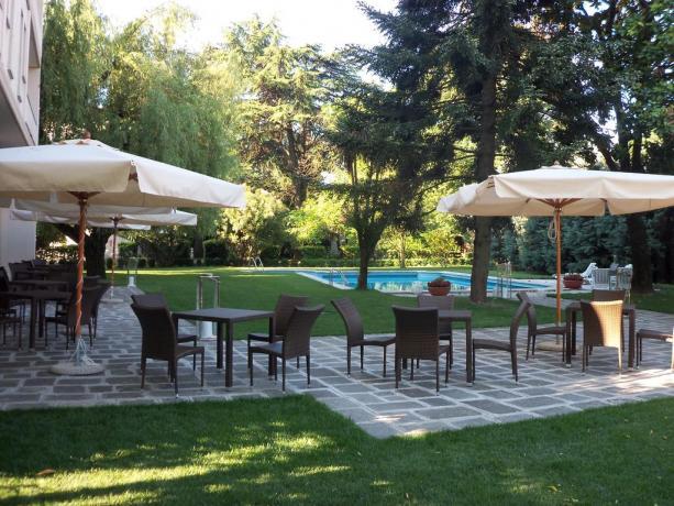 Hotel con piscina vicino Basilica Sant'Antonio Padova