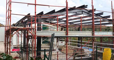 Casa prefabbricata in umbria e toscana sistema abitativo - Struttura in ferro per casa ...