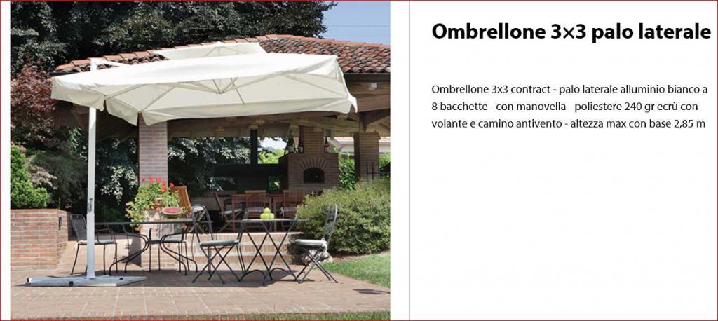 Prezzo Ingrosso per Ombrellone Antivento 3x3 Bora-Bora