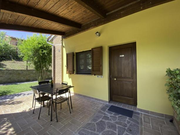AgillaeTrasimeno- Portico esternox godersi panorama in relax