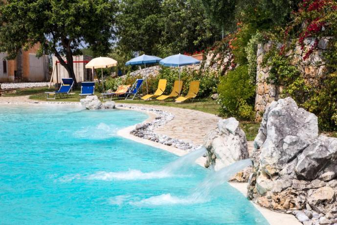 Hotel4stelle con Piscina Rotonda a Sfioro-Marina-di-Camerota