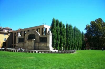 Monument to Giuseppe Verdi in Parma