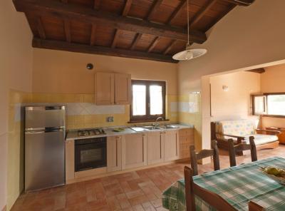 Appartamento Mandorli cucina attrezzata di tutto