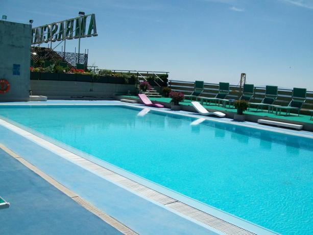 Piscina Esterna hotel a Chianciano Terme