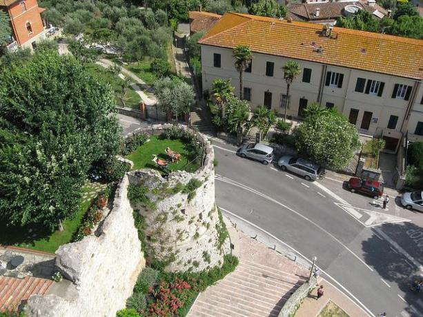 Vista torre panoramica B&B Castiglione del Lago