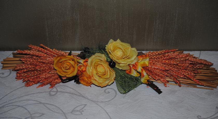 Dettaglio floreale in camera