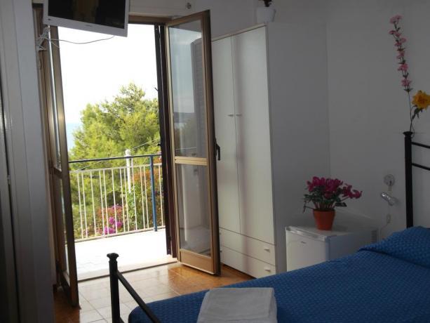 Camera privata matrimoniale in Campeggio Palinuro