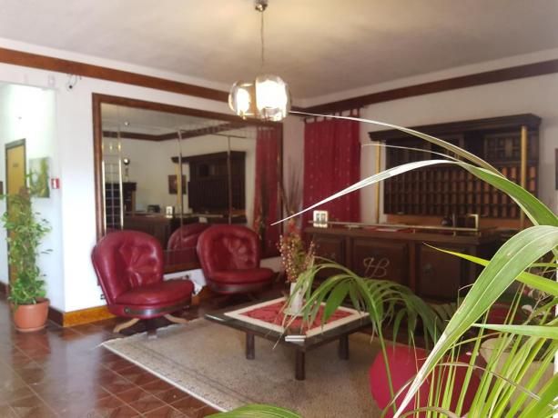 Sala dell'Hotel La Baia Del Pescatore