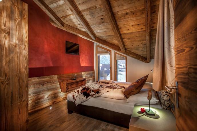 Camere eleganti con Tv Led vicino Bolzano