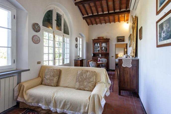 Soggiorno Villa di lusso + divano letto Cortona