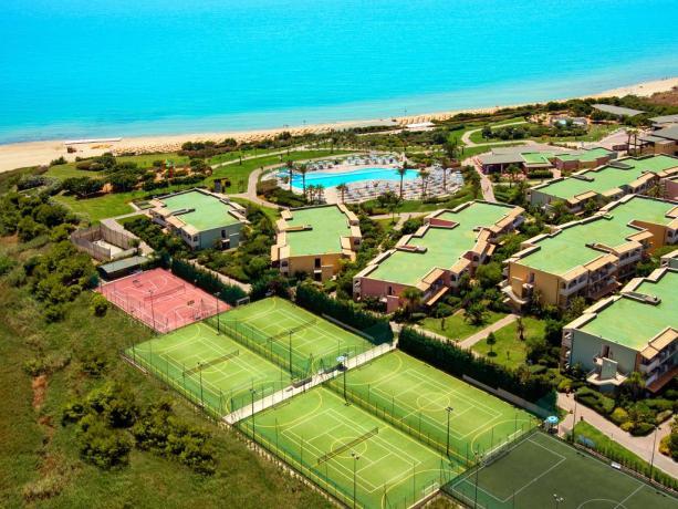 Licata Villaggio con Impianti Sportivi 4stelle