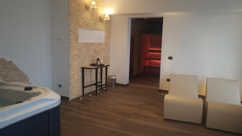 Hotel4stelle con SPA e Angolo Relax con Tisana