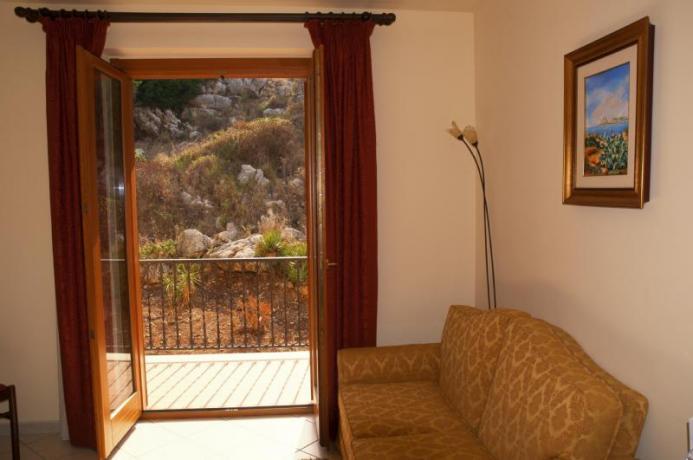 Junior Suite con Terrazzo vista Collina