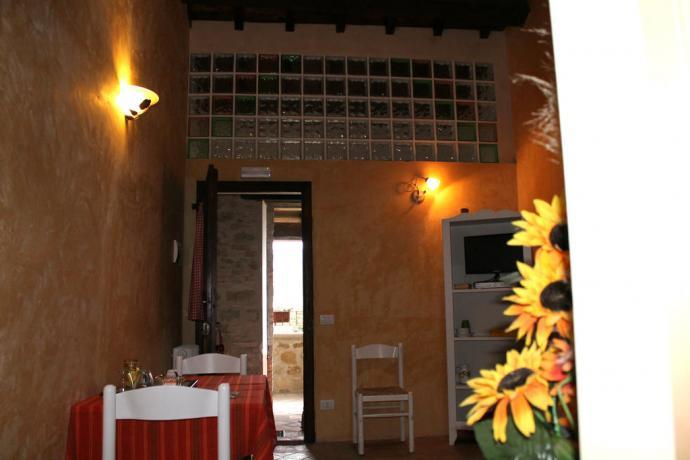 Appartamento Il Ciottolino agriturismo vicino Assisi