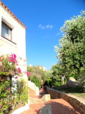 Hotel con giardino ad Arzachena in Costa Smeralda