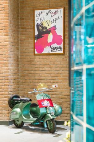 vespa museo scooter in hotel3stelle S.MariaAngeli