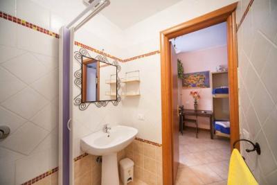 bagno privato nelle camere casa vacanze a Roma
