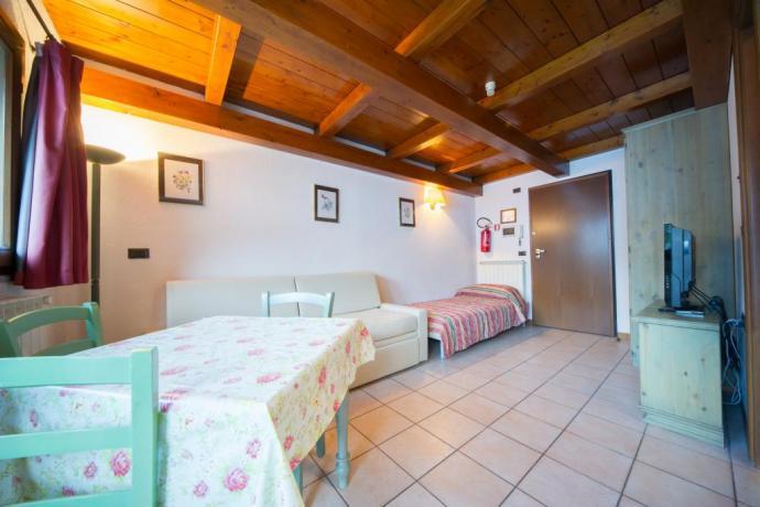 Appartamento-vacanza Bardonecchia 2/3 persone con letto singolo