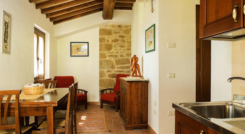 Appartamento con area giorno e cucina