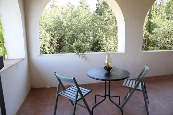 Villa Vacanza Montespertoli con 4 camere e terrazze
