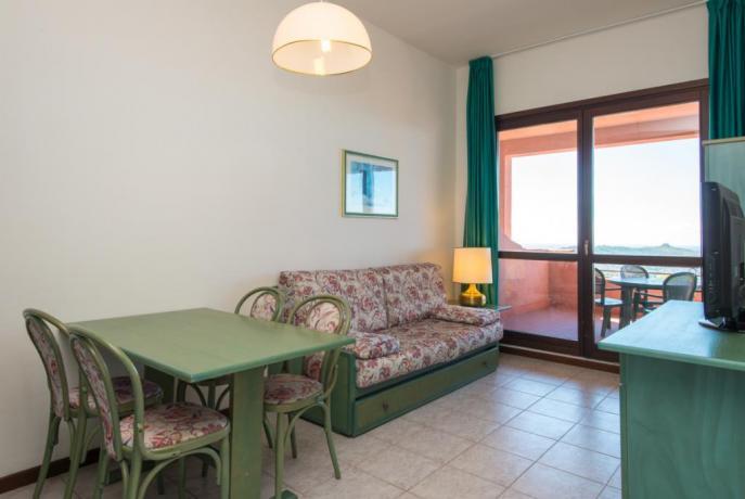 Family Suite con divano letto e TV