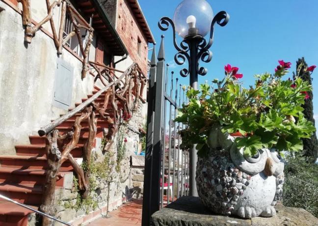 Villa a Collodi con grande giardino per 6persone