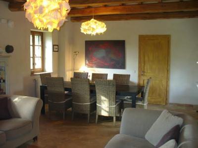 soggiorno con tavolo per gruppi Orvieto