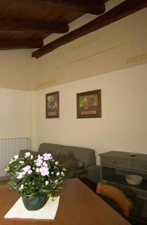 Area soggiorno Appartamento Genzianella