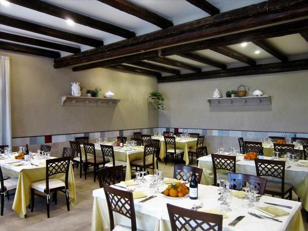 Hotel3stelle con sala interna ristorante Caltagirone