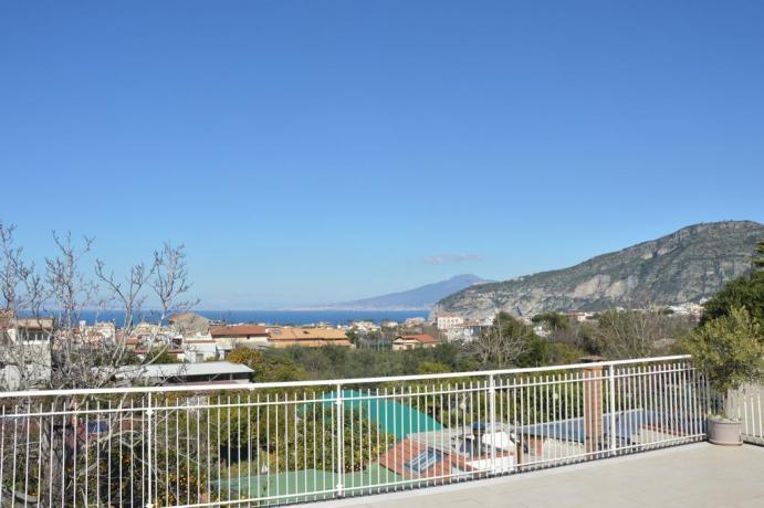 Panorama Costa Sorrentina dalla terrazza Casa Vacanza