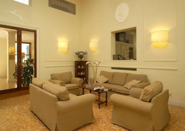 Salotto elegante Hotel a Fiuggi