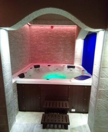 Minipiscina idromassaggio Eco Romantic Resort