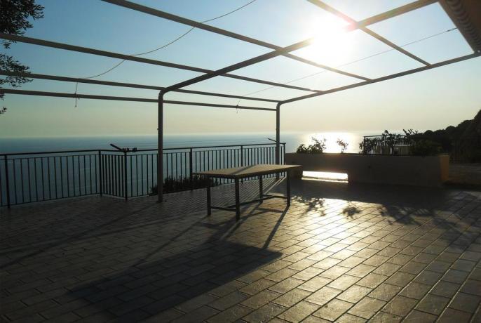 Camera con Terrazza in un Agriturismo a Pisciotta