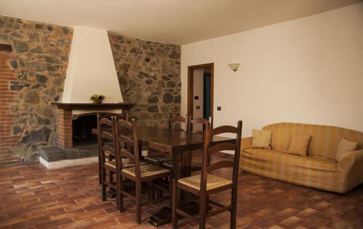 Soggiorno Agriturismo Torre Alfina con Camino