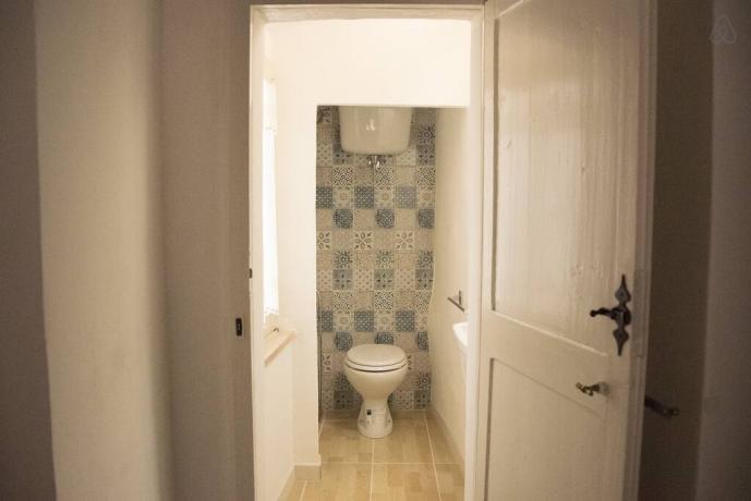 Bagno privato in casale in Umbria vicino Foligno