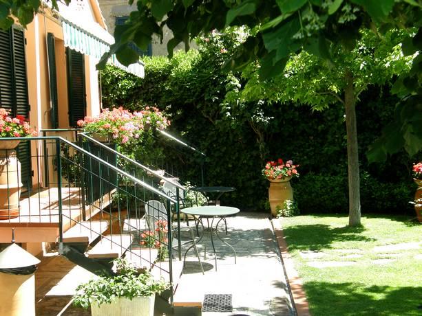 Affittacamere con giardino a Castiglione del Lago