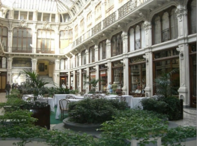 The Sabaudo gallery in Turin