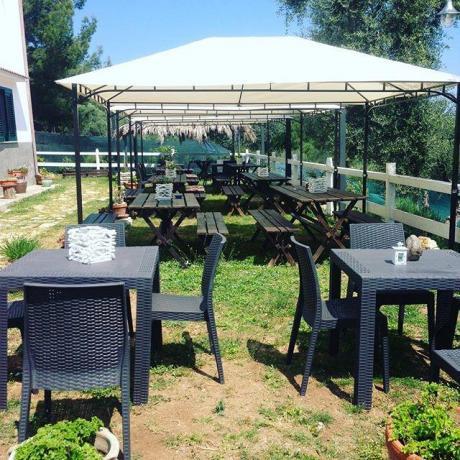 Camere in Puglia, Parcheggio e Giardino esterno
