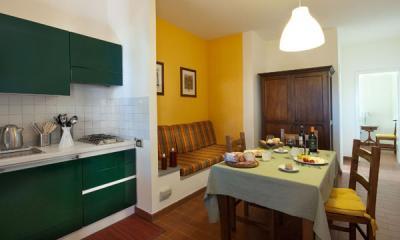 Cucina appartamento Country Lodge