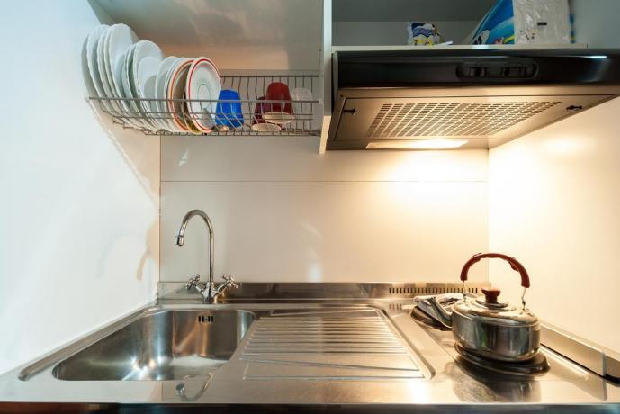 Cucina appartamento Roma vicino Castel Sant'Angelo